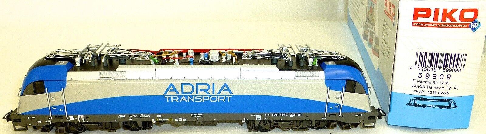 Rh 1216 Ellok Adria Transport Epvi Dss Nem Piko 59909 H0 1:87 Conf. Orig. HI3 Μ