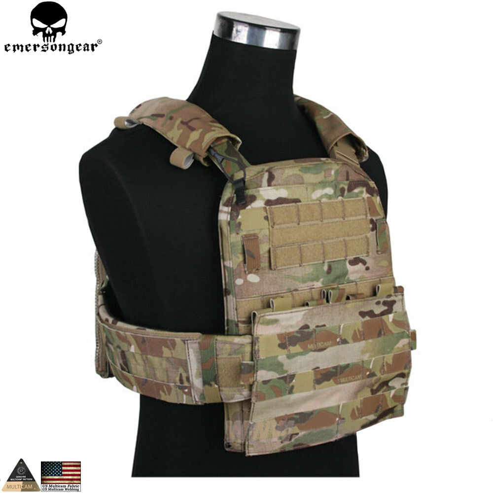 Tactical CP AVS Adaptive Vest Heavy  Version Military Molle Airsoft Plate Carrier  up to 60% off