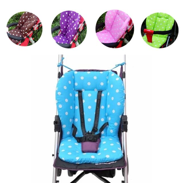 Thick UNIVERS Dot Liner Cover Mat For Pushchair Buggy Pram Car Seat Bouncy Chair