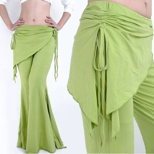 Belly Dance Costume Cotton Tribal Yoga Pants 13 Colors