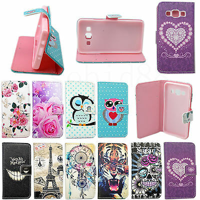 Beautiful Wallet Leather Stand Cover Case For Samsung Galaxy S6 S5 S4 iPhone 6 5
