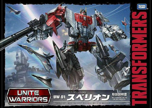 New Transformers Takara Unite Warriors UW-01 Aerobots Superion in Stock