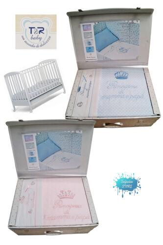 lenz.T /& R BABY kleine Emotionen Kinderbett pium Stoßstangen Set 6 Stk