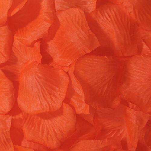 1000 Pcs Simulation Rose Flower Petals Sahua Confetti Wedding Party Decoration
