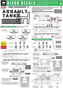 Bison-Decals-1-35-IDF-Assault-Tanks-35056