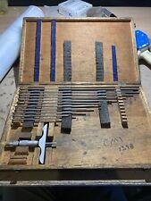 Fowler Depth Micrometer Base In Hard Case Q34