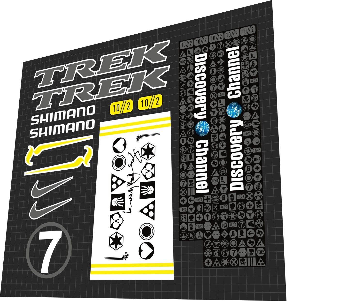 TREK 2005 Tour De France Madone Lance Armstrong decal set