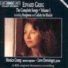 Edvard Grieg Songs Vol 1 Monica Groop