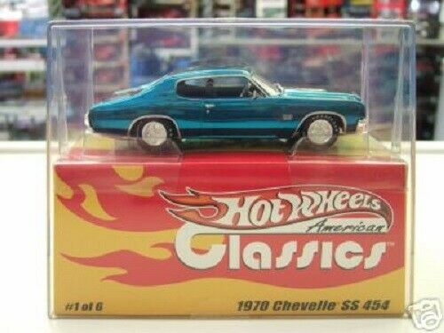 HOT WHEELS AMERICAN CLASSICS 1 43 1970 CHEVELLE SS 454