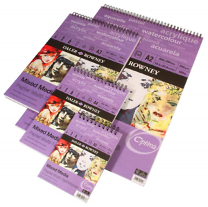 Daler-Rowney Mixed Media spirale Pad 250gsm-A2 30 feuilles
