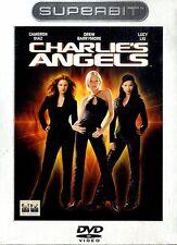 CHARLIE'S ANGELS Cameron Diaz Drew Barrymore DVD Superbit Edition NEW Sigillato