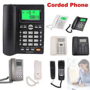 Corded-Telephone-Desktop-Phone-Caller-ID-Answering-Machine-Landline-Home-Office