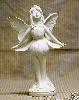 Special Ceramic Bisque Fuschia n Candy Tuft Fairy + Xmas Angels Ready To Paint