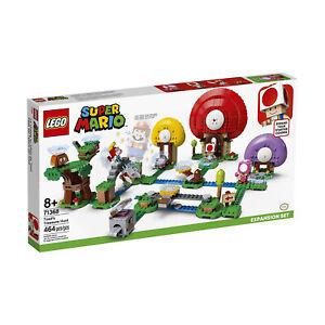 LEGO® Super Mario Toad's Treasure Hunt Expansion Building Set 71368 NEW
