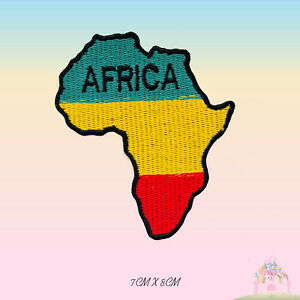 Africa-Map-Rasta-Map-Embroidered-Iron-On-Sew-On-Patch-Badge-For-Clothes-etc