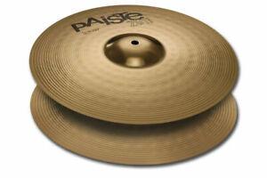 """Bien Paiste 201 Bronze Universel 14"""" Hi Hat Cymbales/new W-garantie/154014-u-014-u Fr-fr Afficher Le Titre D'origine Les Couleurs Sont Frappantes"""