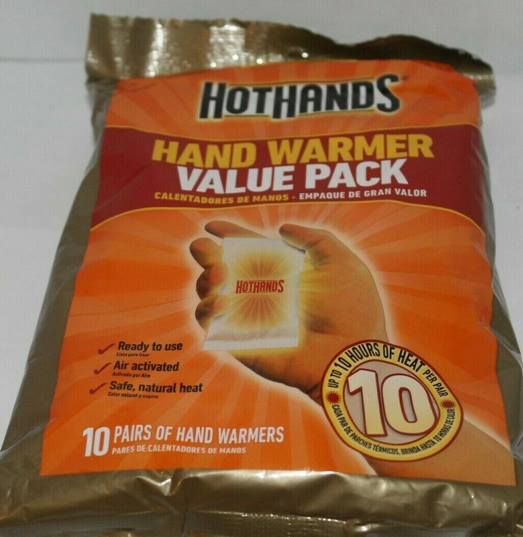 HotHands Hand Warmers Value Pack 10 Pairs