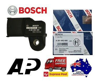 Genuine Bosch 0281002680 Boost Pressure Sensor Bt-50