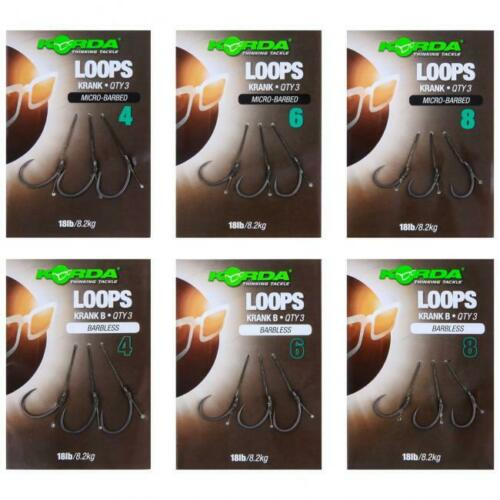 Carp Fishing Korda Loops Full Range