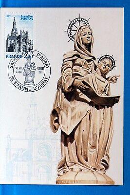St Anne D Auray Cpa Postkarte Maximum Yt 2134 C Reinweiß Und LichtdurchläSsig Europa Frankreich & Kolonien