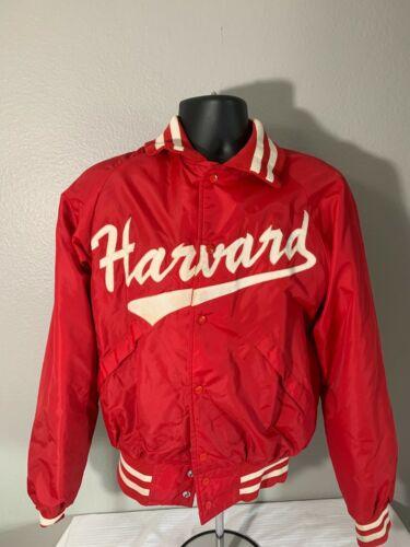 Vintage Harvard Satin Jacket 21x23 Medium Rare Har