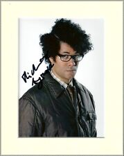 RICHARD AYOADE THE IT CROWD PP MOUNTED 8X10 SIGNED AUTOGRAPH PHOTO