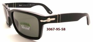 8fe4798a02 Image is loading NEW-AUTHENTIC-PERSOL-3067-S-95-58-SUNGLASSES-