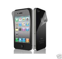 4x Displayschutzfolie Vorder + Rückseite MATT iPhone 4/4S Folie Schutz