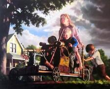 """Up and Over By Bob Byerley Signed and Numbered Print with Cert 23"""" x 19"""""""