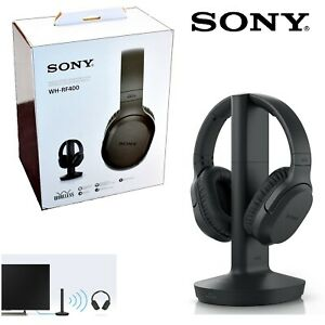 NEW-Sony-RF400-Wireless-Home-Theater-Wireless-Over-the-Ear-Headphones-for-TV