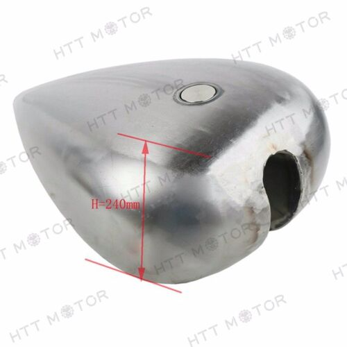 """Custom 5/"""" Stretched 4.5 Gallon Gas Fuel Tank For Harley Chopper Motorcycle Bikes"""