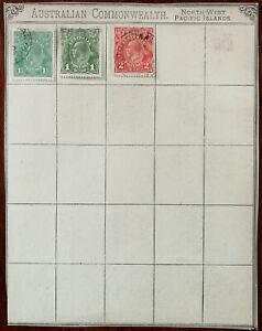 Australia-1p-1-1-2-p-amp-2p-King-George-V-Stamps-1926-1930