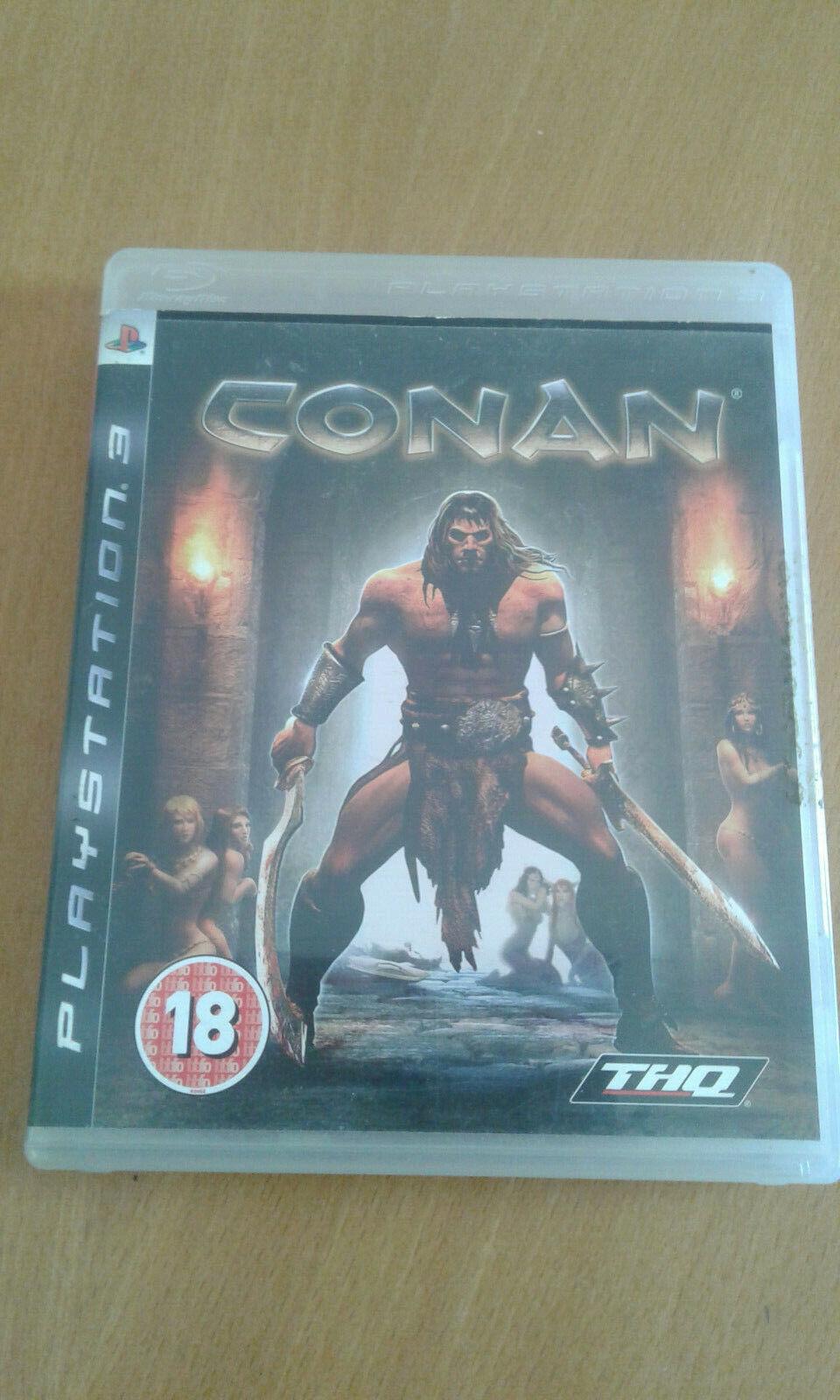 CONAN PS3 ORIGINAL USED GAME PLAYSTATION 3 GAME FREE SHIPPING