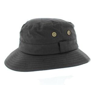 Failsworth Black Wax Fisherman Hat