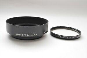 ASAHI-PENTAX-UV-49mm-Lens-Filter-50mm-f1-4-55mm-f1-8-2-Lens-Hood-from-Japan-181