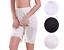 New Women/'s Premium Illusion Classic Trouser Pants Half Slip With Lace Trim 1037