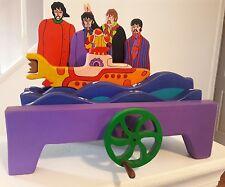 Handmade Wooden  The yellow submarine Beatles