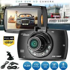 "HD 1080P 170° Angle Car Van Dash Cam DVR Recorder 2.4"" LCD With Video Camera"