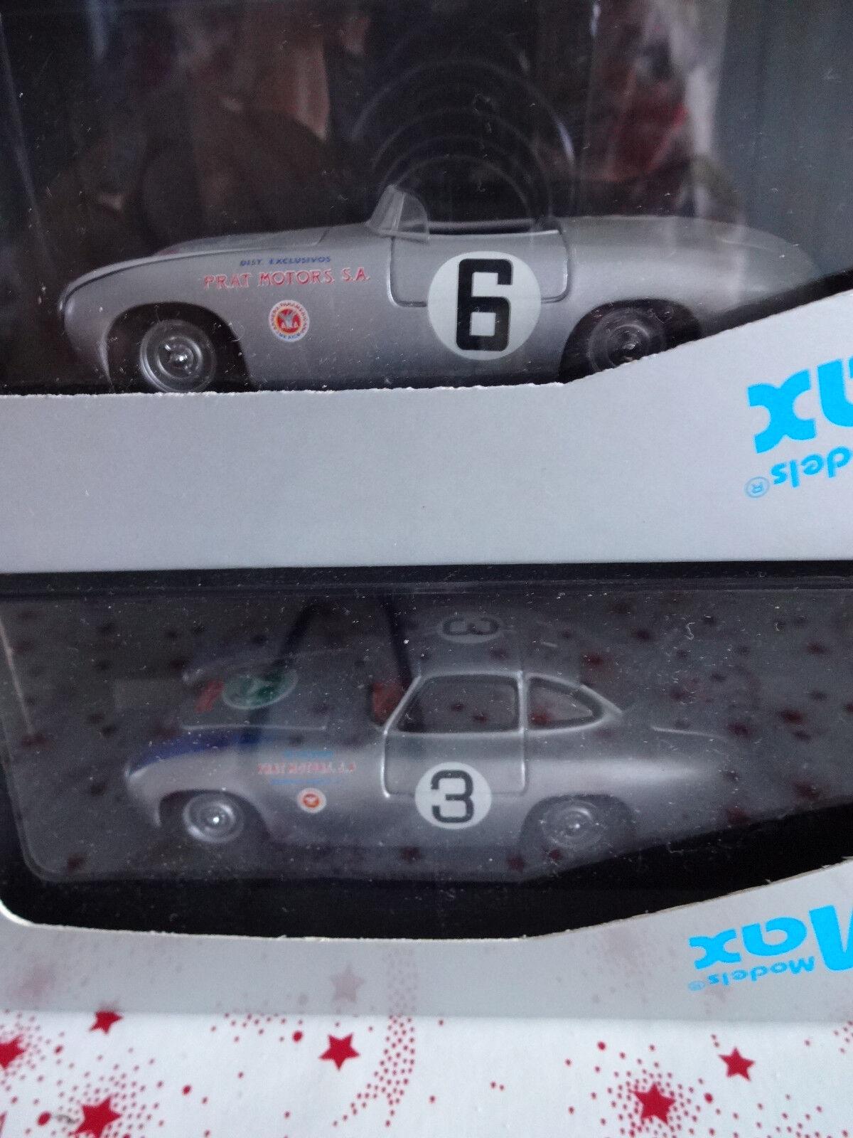 Lot de 2 Mercedes 300 SL année 1952 de Models  MAX Rares  classique intemporel