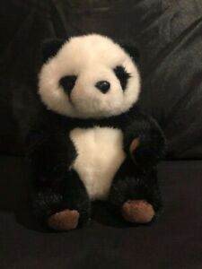 Panda Teddy Bear Stuffed Animal Plush Soft Toy Baby White Black Doll Girl Gift