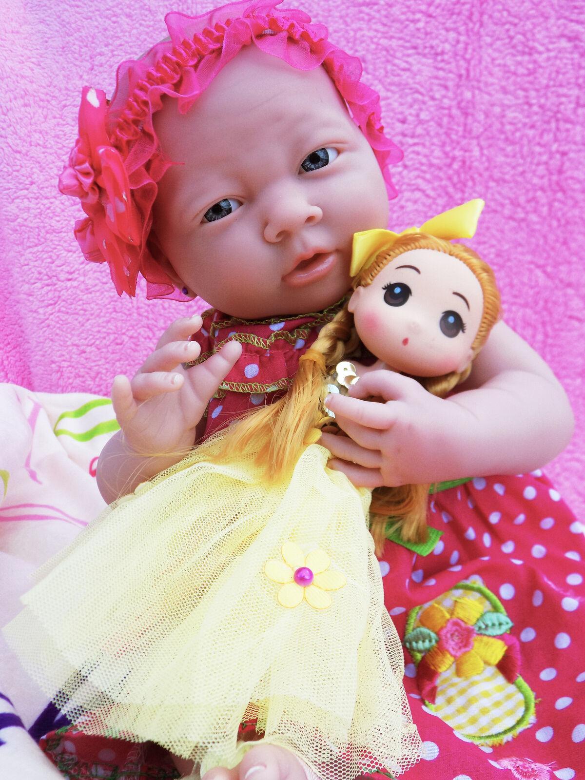 Super  Affare Reborn Girl Bambola 38.1cm Fatto a uomoo Realistici Bambino Vinile  economico e di alta qualità