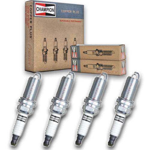 Auto Pre ec 4 pc Champion Copper Spark Plugs for 2000-2006 Nissan Sentra