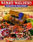 Weight Watchers Favorite Recipes by Inc. Staff Weight Watchers International (1988, Paperback)