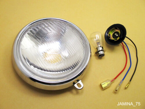 "Bulb Rim Honda CB125 S CL125 S SL125 K XL125 XL175 6/"" Headlight Head Lamp 6 V"