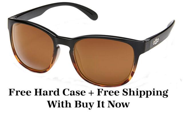 92516bd769 Suncloud Loveseat Sunglasses - Black to Tortoise fade w  Brown Polarized  Lenses