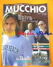 Rivista MUCCHIO SELVAGGIO 541/2003 Estra Nina Nastasia Thrills Lou Reed No cd