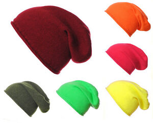 1fbae1e5396 Image is loading Mens-Ladies-Luxury-100-Cashmere-Slouchy-Slouch-Hat-