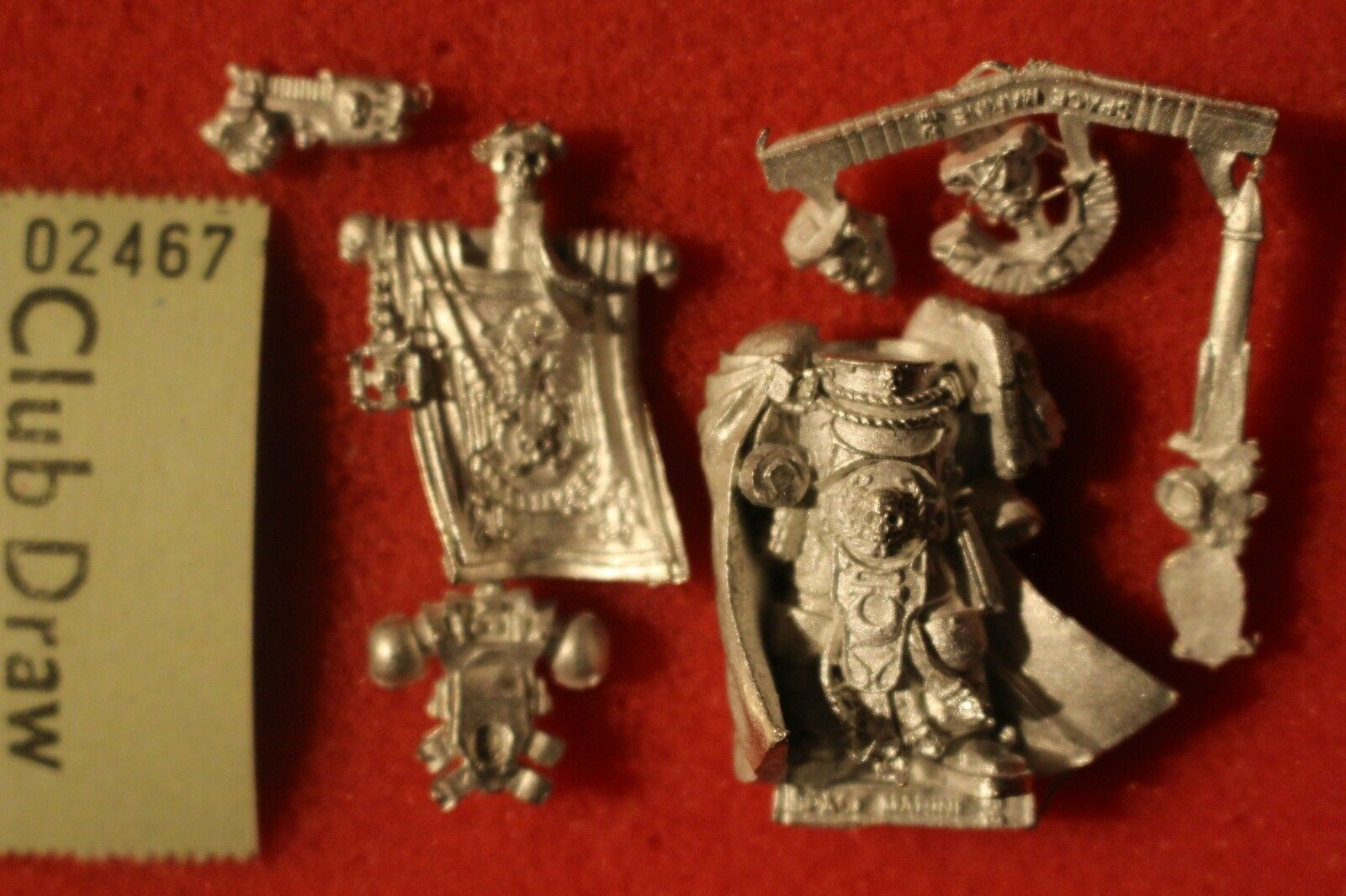 Games Workshop Warhammer 40k Ultramarines Captain Sicarius New OOP Metal WH40K