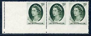 STAMP-TIMBRE-AUSTRALIA-AUSTRALIE-NEUF-BANDE-DE-3-VARIETE-DE-PIQUAGE