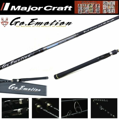 Major Craft One Piece Bass Spinning Rods Go Emotion Serie